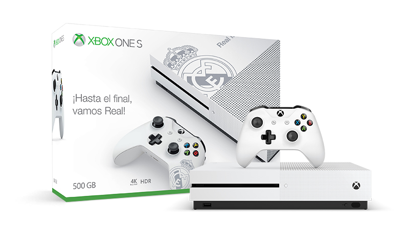 Pack Xbox One S Real Madrid 279€ + Game Pass 12 meses