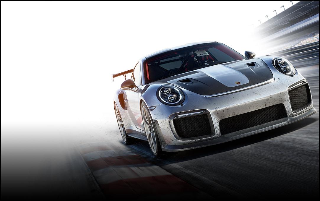 Driver Racing Porsche 911 GT2 Front View