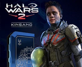 Halo Wars 2 Pack de chef Kinsano