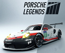 Porsche Legends, voiture de course Porsche 911 RSR
