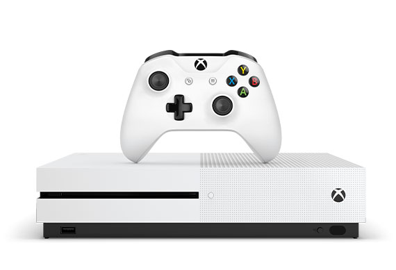Front view of Xbox One S