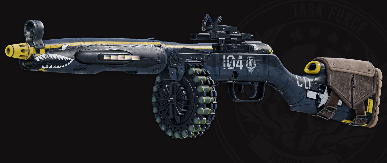 Night Raid Mastercraft weapon