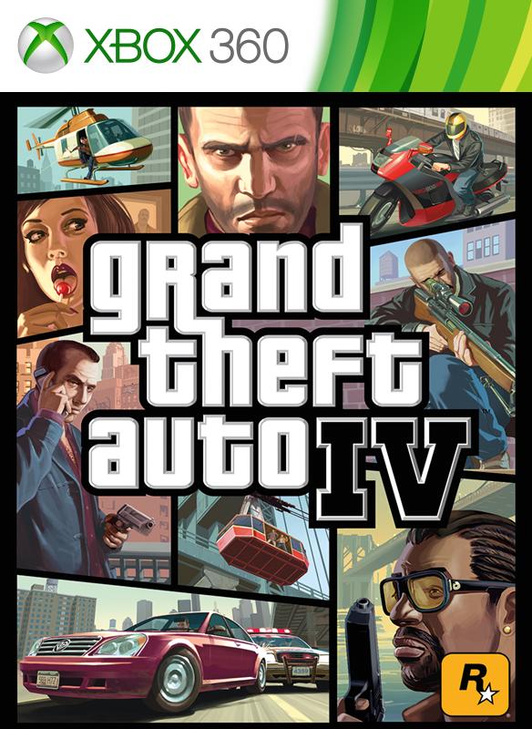 GTA IV Complete boxshot
