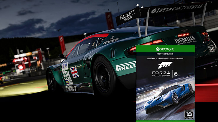 Forza motorsport 6 box shot