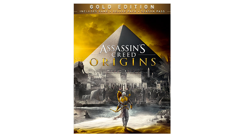 Assassin's Creed® Origins Gold Edition -pakkauksen kansi