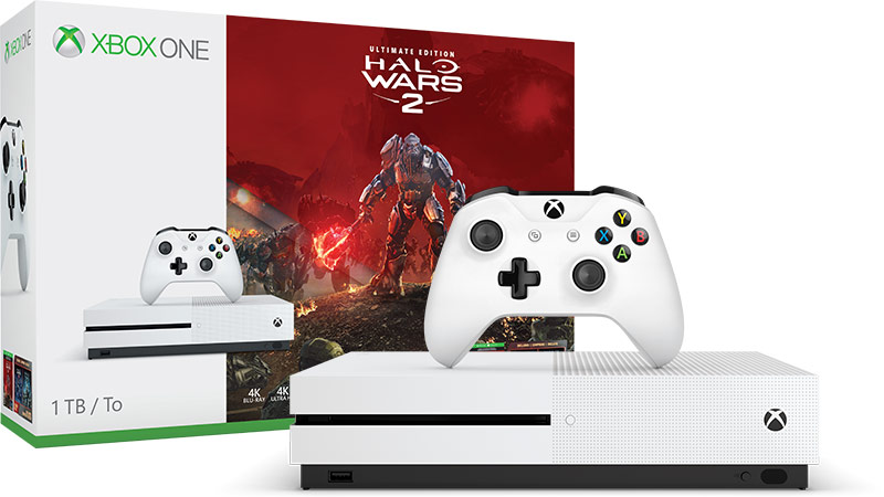 Lote Xbox One S Halo Wars 2