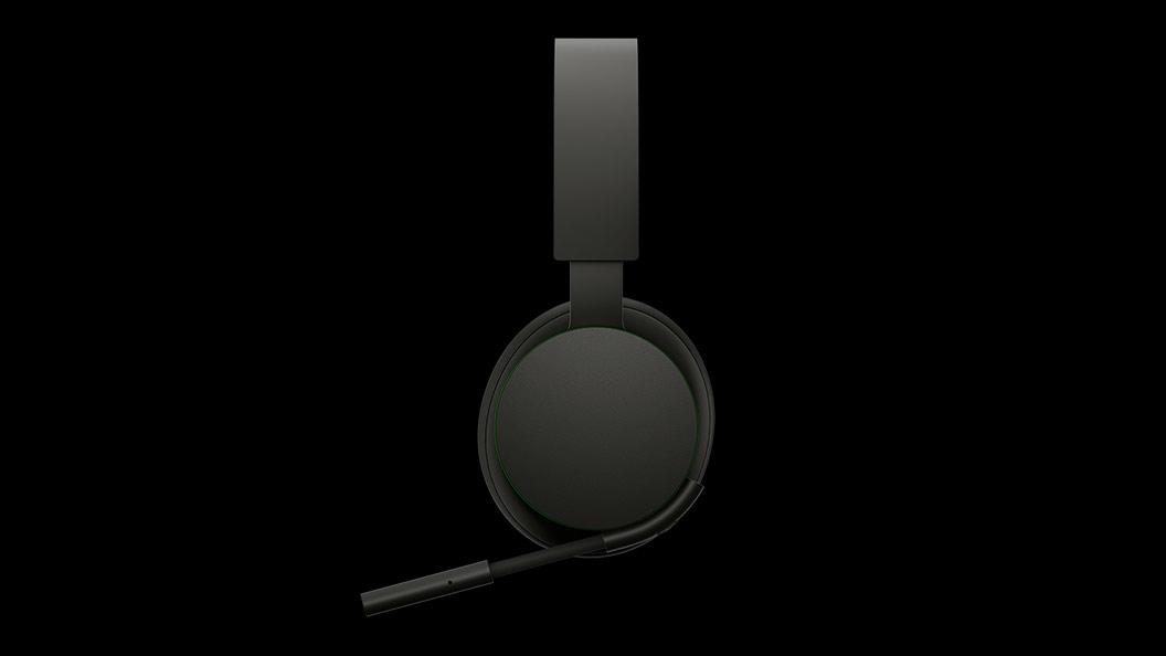 Rechteraanzicht van de Xbox draadloze headset.