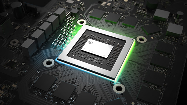 Der CPU der Xbox One X