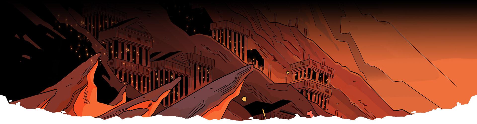 Grafika z hry Hades.