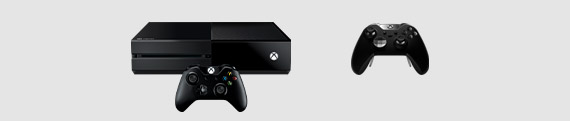 Xbox One console and Elite Series 1 Controller