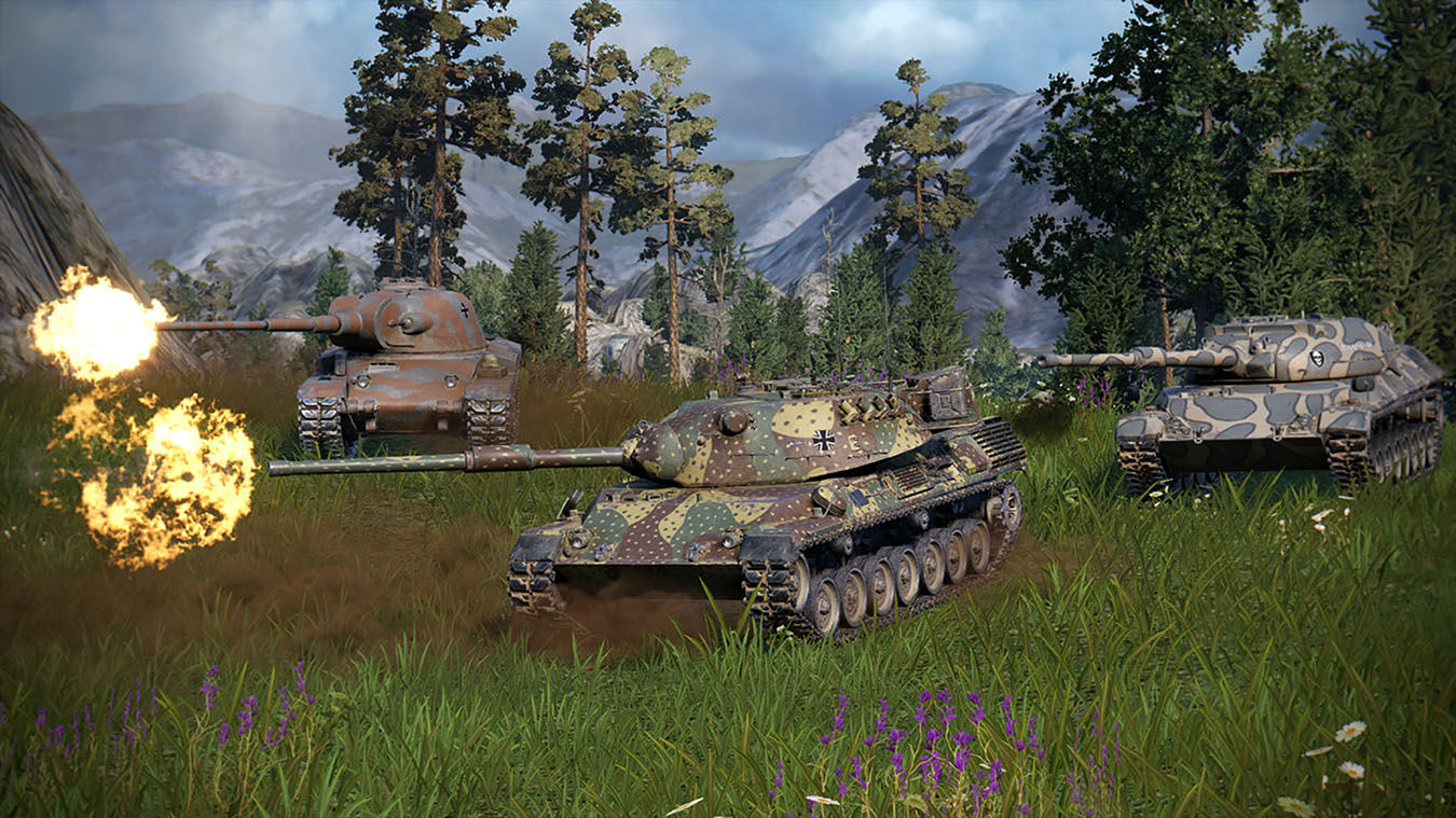 Map World Of Tanks Pc To Controller%0A See image  High tier German medium class tanks firing