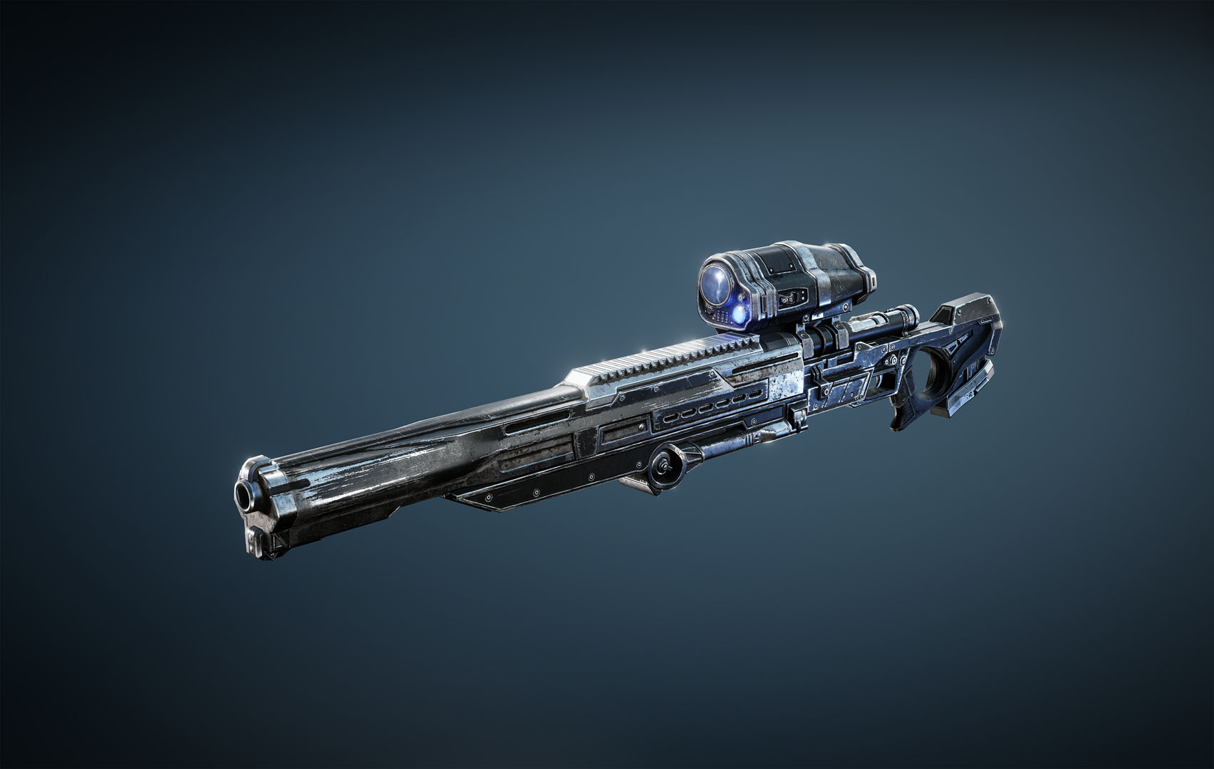 Longshot: weapon is a sniper rifle type