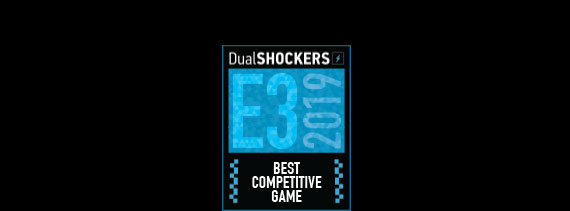 Logotipo de Best competitive game DualShockers