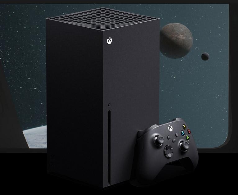 Xbox Series X-Konsole plus Controller