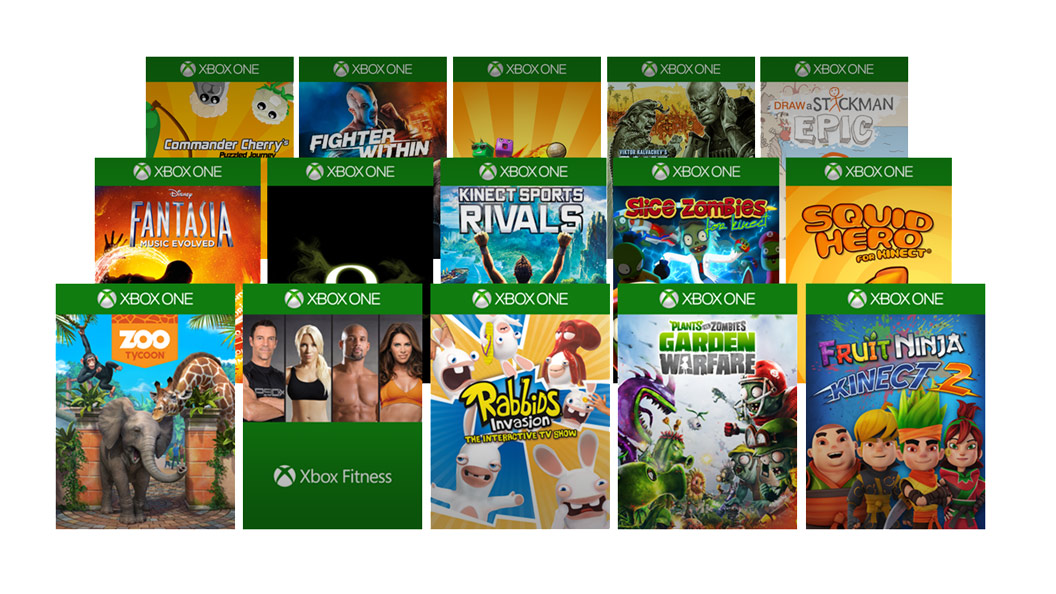 Xbox One Game gallery
