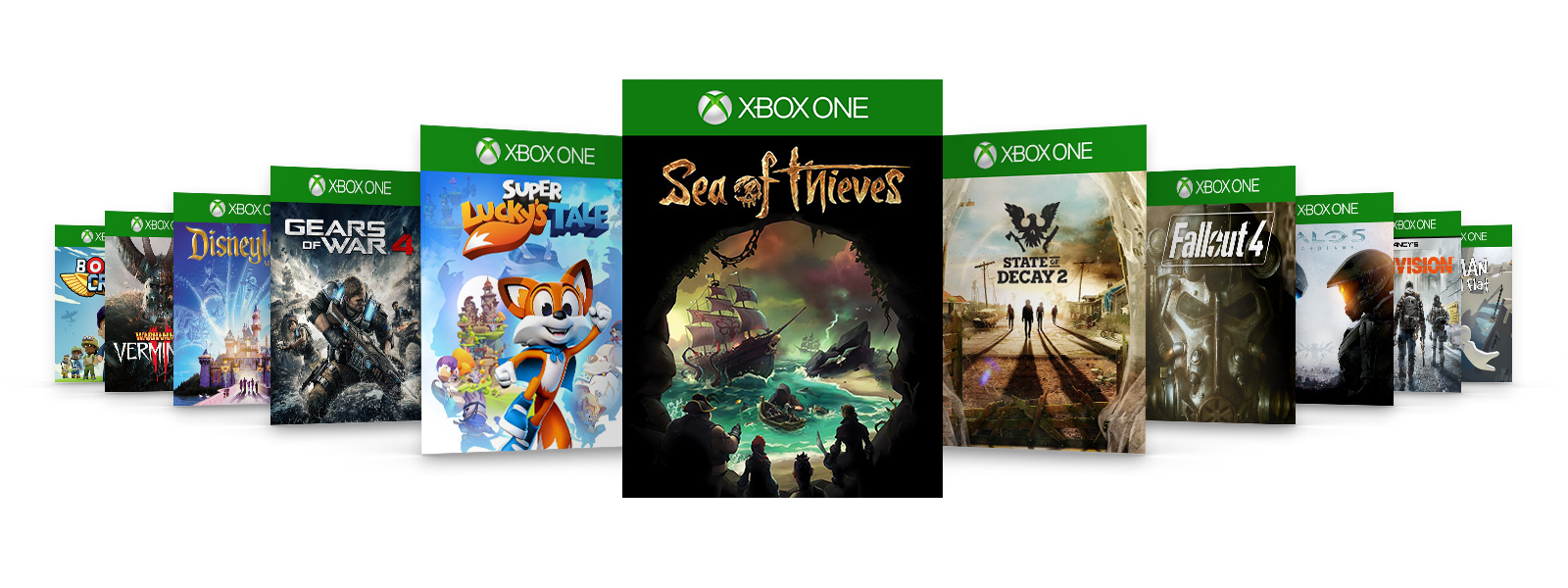 An image of some games that are available on Xbox Game Pass