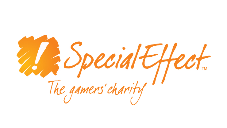 Logo Special Effect - The gamers charity