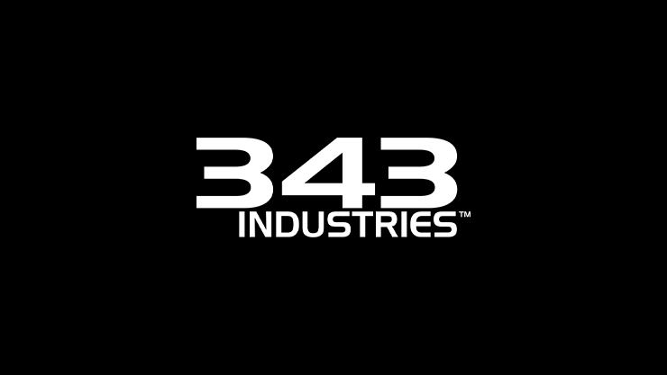 343 Industries のロゴ