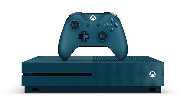 Special Edition Deep Blue 500GB console