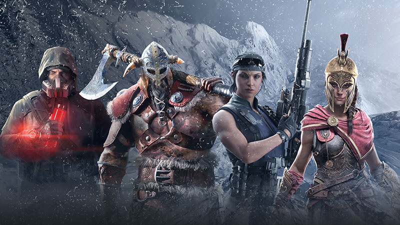 Ubisoft games on sale include The Division 2, Ghost Recon Breakpoint, and Assassin's Creed Odyssey.