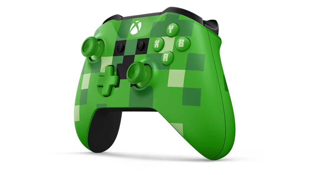 Right angle view of Minecraft Creeper Controller