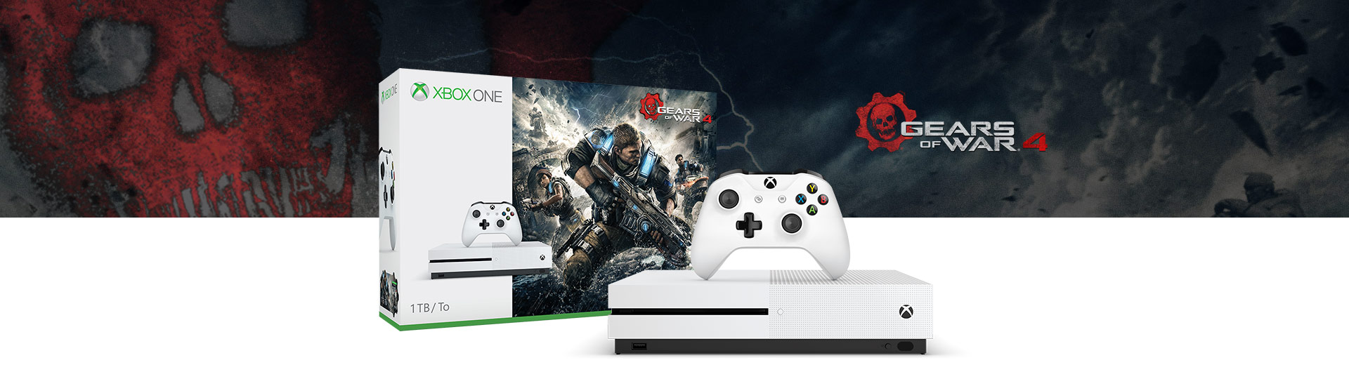 Pack Xbox One S Gears of War 1 To
