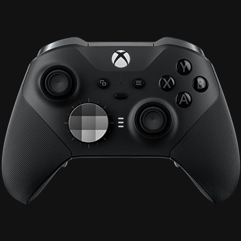 Detail view of Xbox Elite Wireless Controller Series 2
