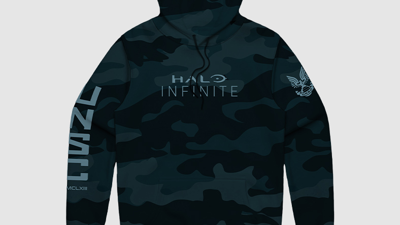 Sweat à capuche Halo Infinite Camo