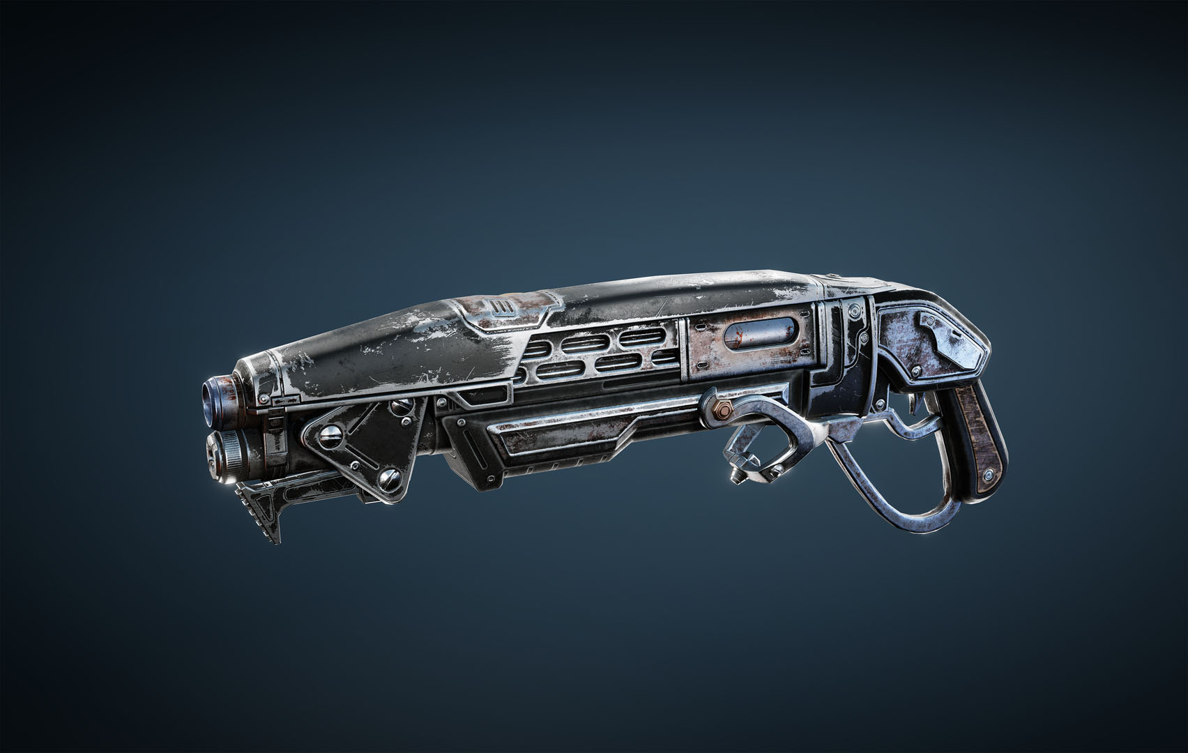 Gnasher: weapon is a shotgun type