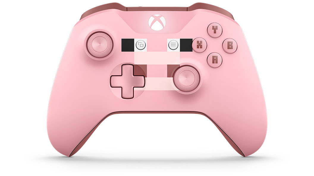 Left angled view of controller