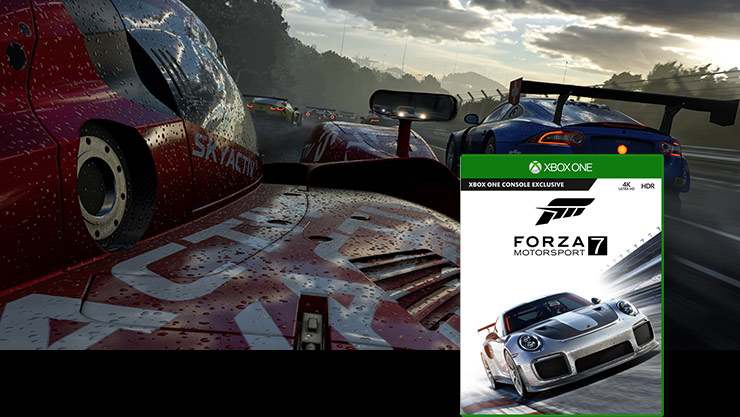 Forza motorsport 7 box shot