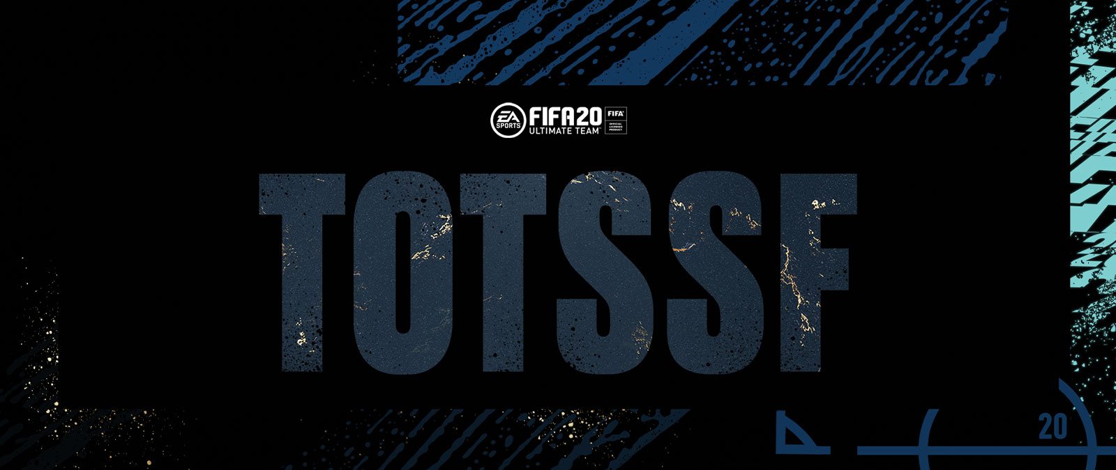 EA Sports logo, FIFA 20, FIFA Official Licensed Product, Team of the Season So Far logo