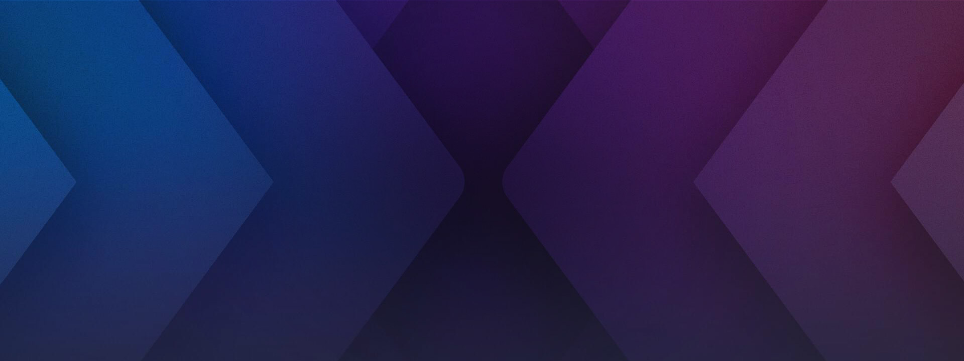 Blue to purple gradient of a stylized mixer logo X