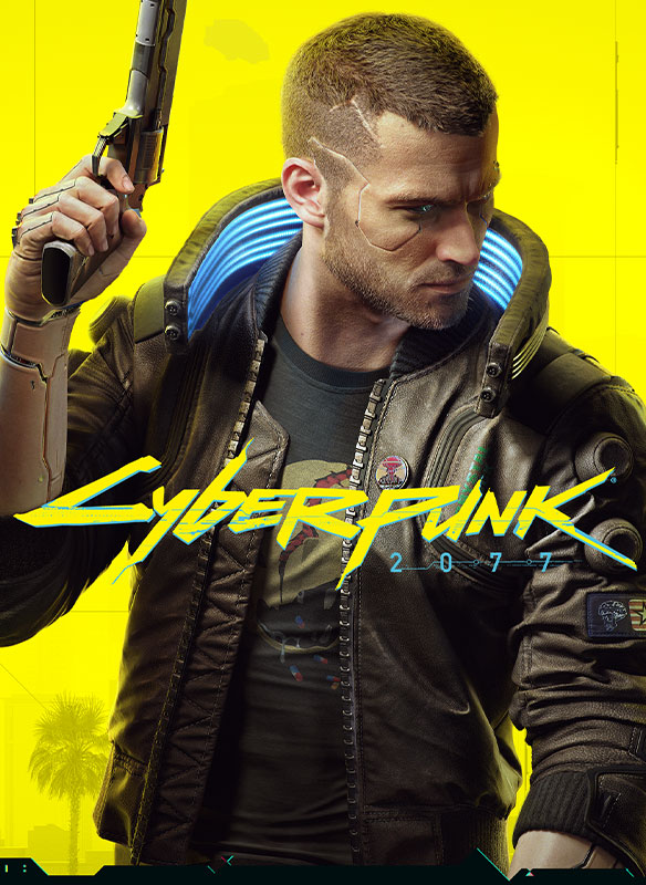 Cyberpunk 2077-coverbilde