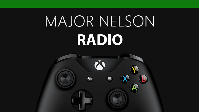 Xbox one controller with Major Nelson radio headline