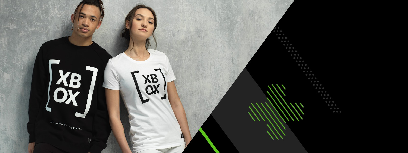 b18447e54dd SHOP NOW. Models wearing official Xbox branded clothing