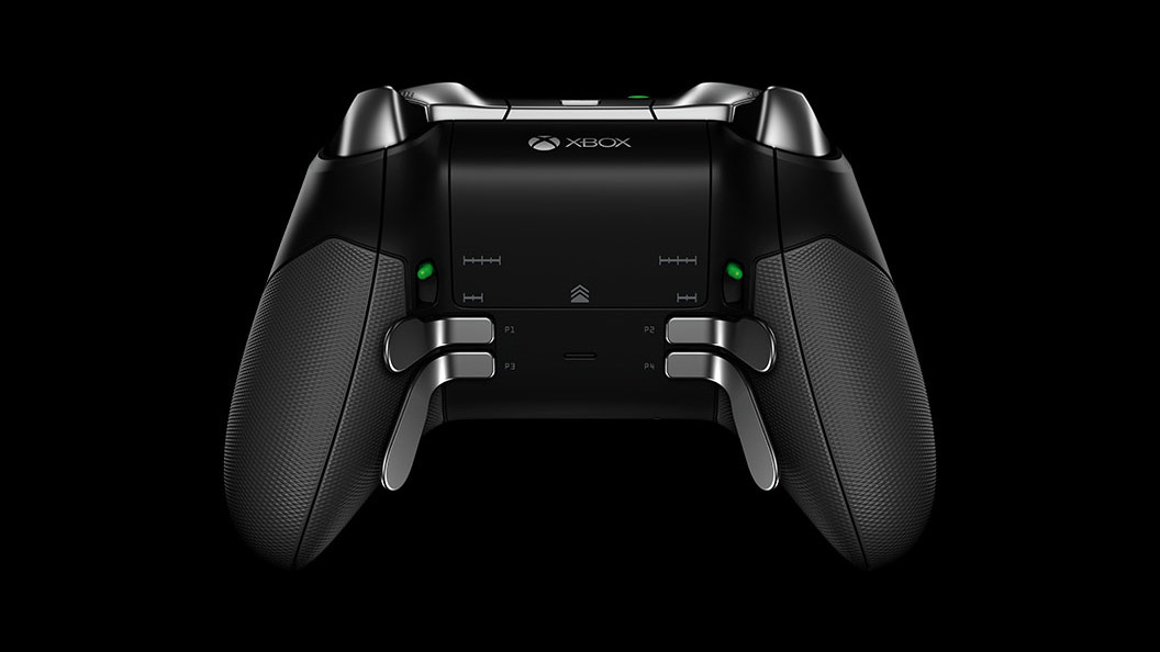 Elite draadloze controller - close-up van knoppen