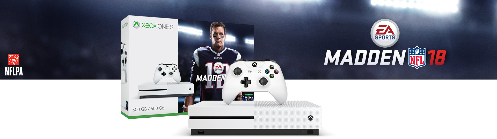 Xbox One S Madden 18 500GB