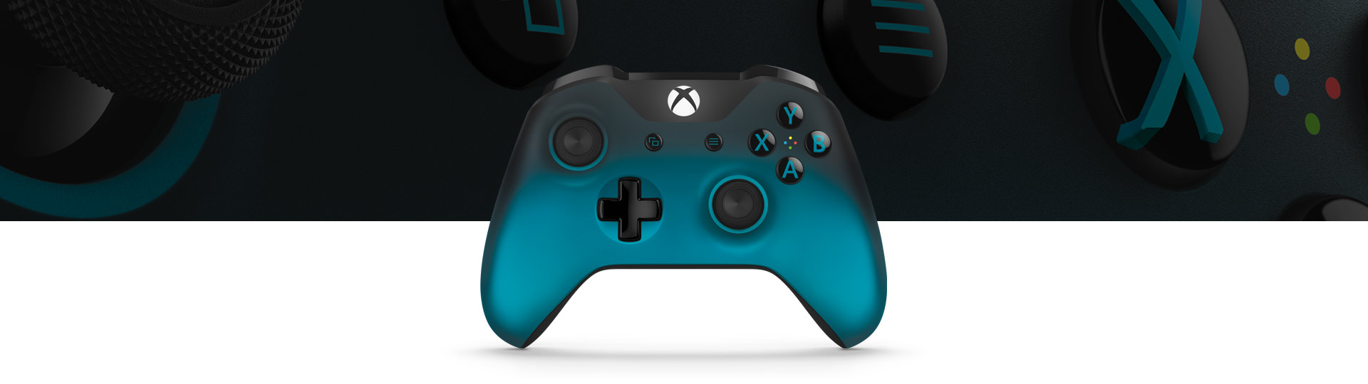 Xbox Wireless Controller Ocean Shadow Special Edition