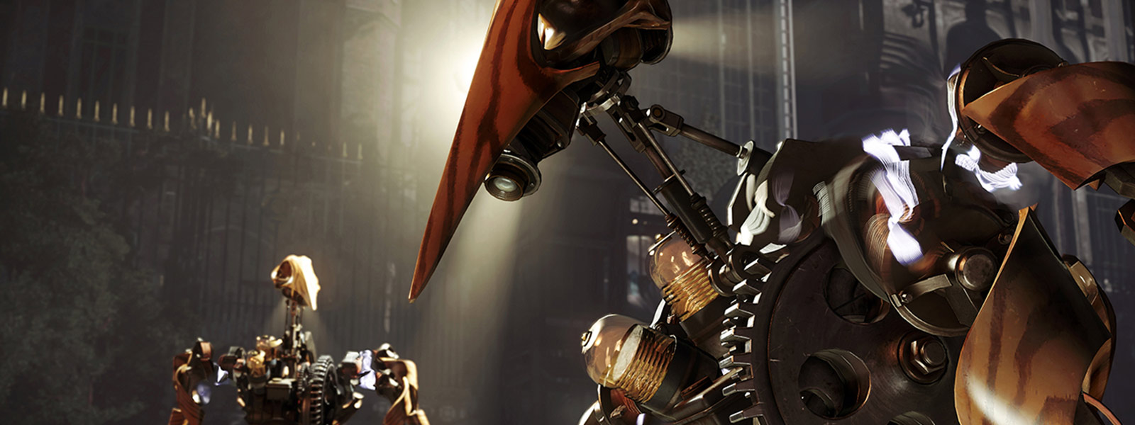 Void-Engine bei Dishonored 2-Roboter