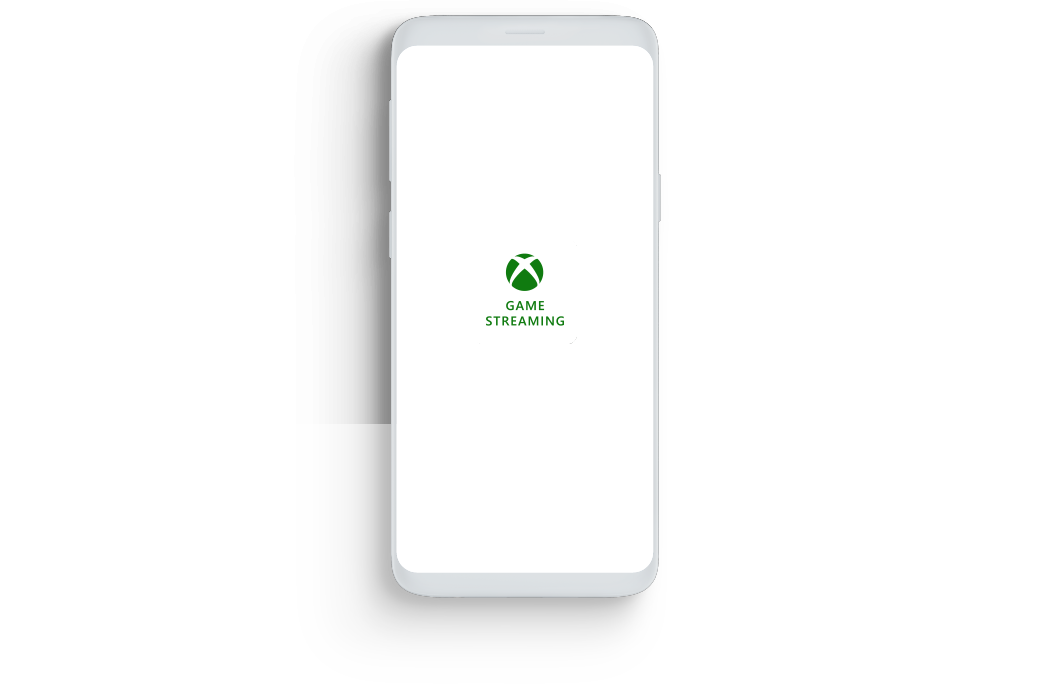 Smartphone displaying the Xbox Game Streaming app logo