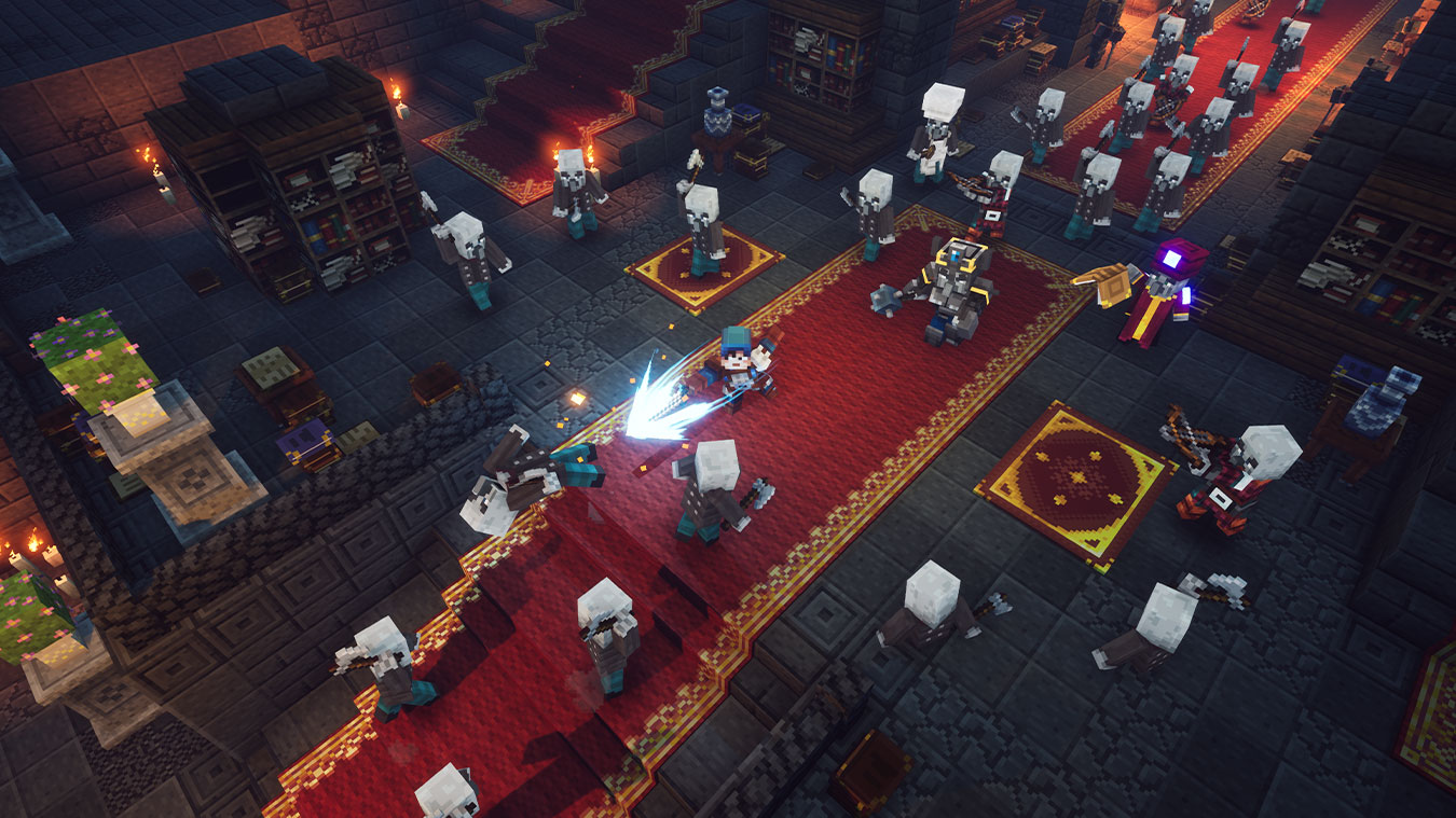 Minecraft Dungeons para Xbox One e Windows 11  Xbox