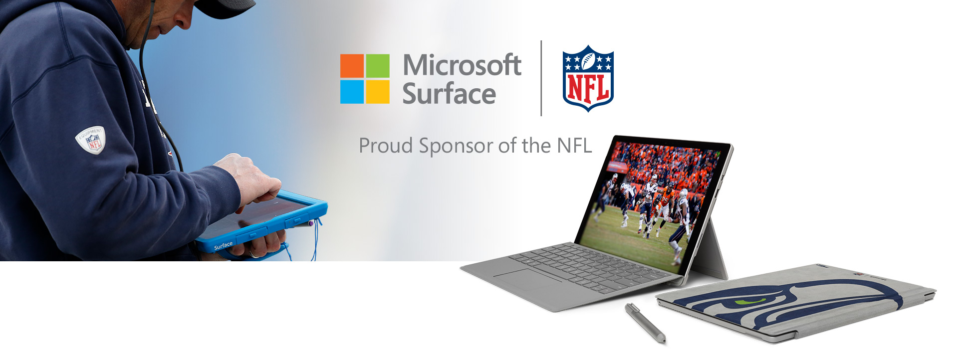 Microsoft Surface - NFL