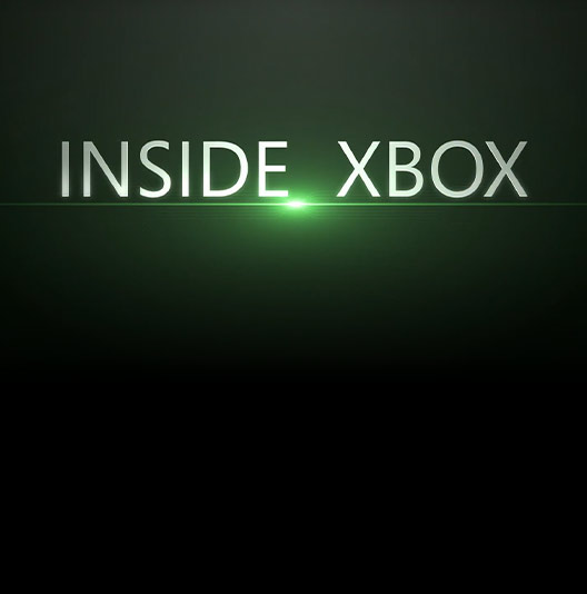 "Text reading ""Inside Xbox"" over a black background"
