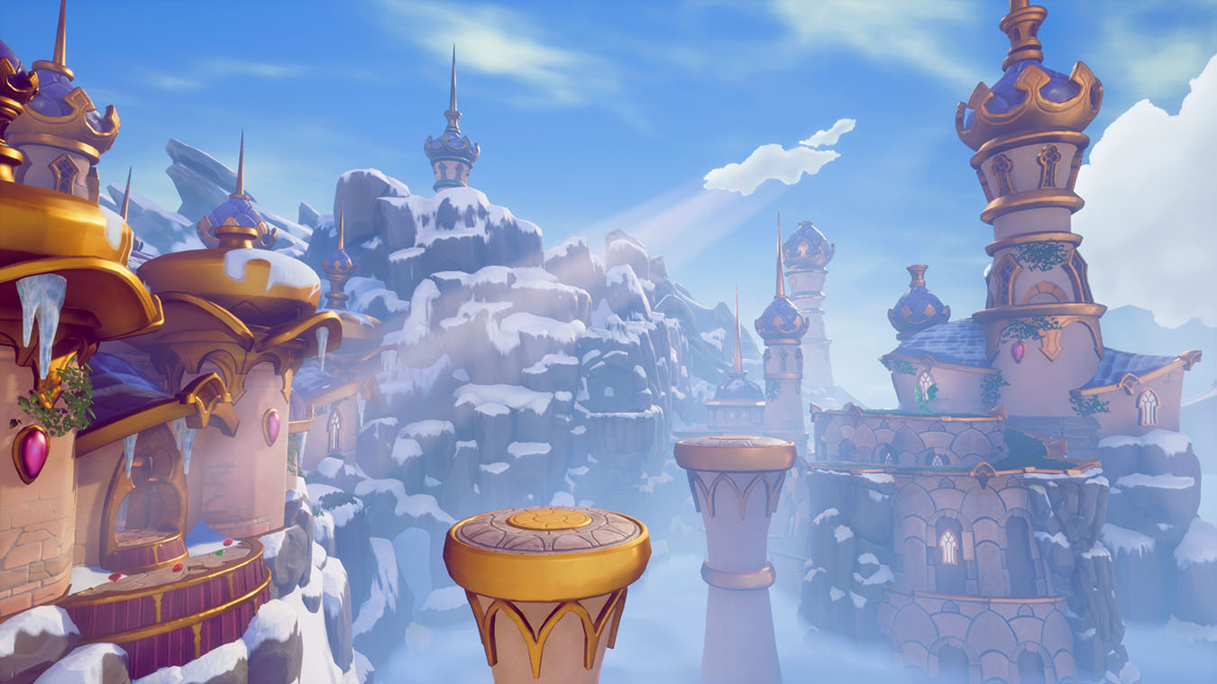Spyro Winter Tundra homeworld