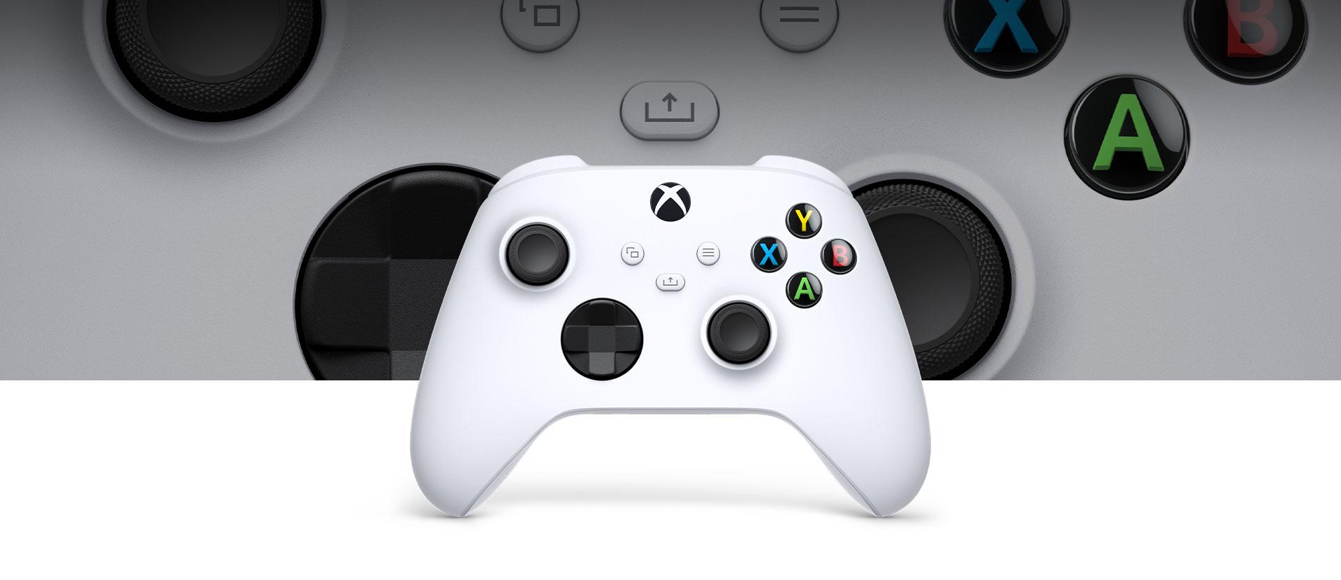 Controle Xbox Robot na frente