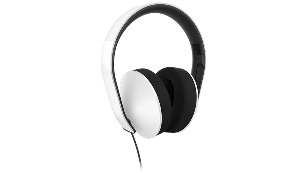 Stereo Headphones SE angled Left/ Mic up