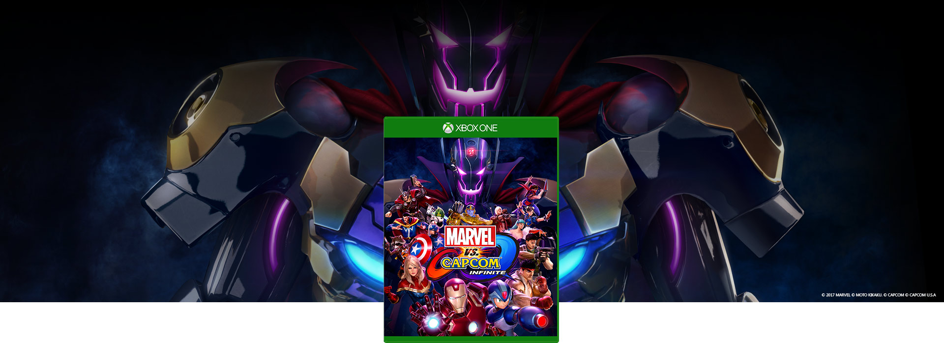 Boxshot του Marvel vs Capcom Infinite