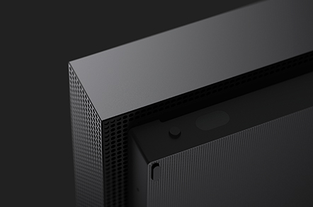 click to expand close up of xbox one x
