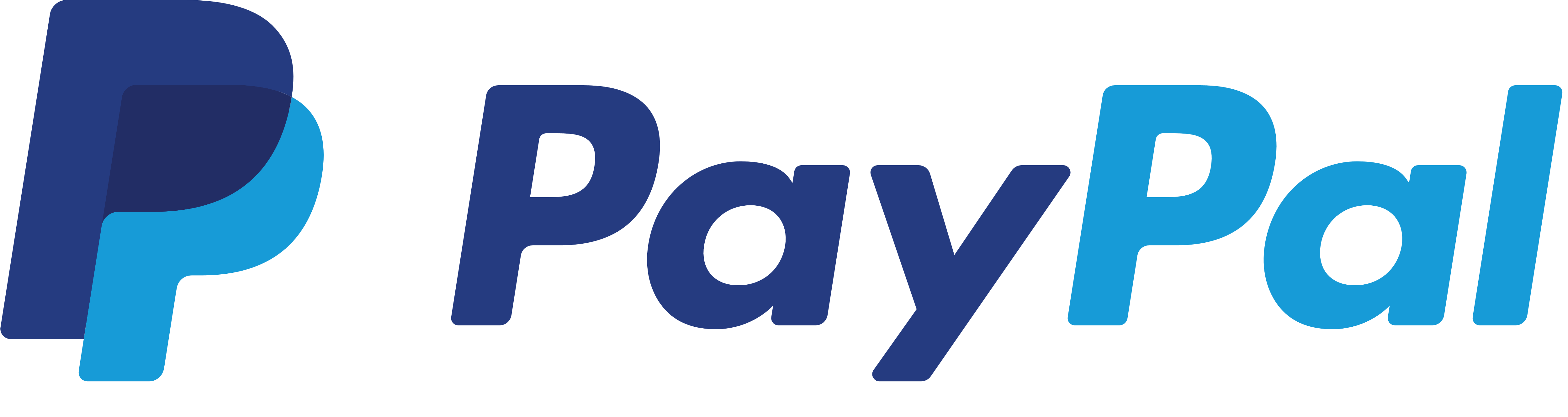 An image of the PayPal logo